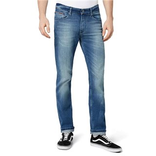 Tommy Jeans Berry Mid Blue Lightwash Straight Fit Jean