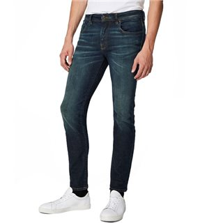 Selected Homme Dark Blue Denim Leon 6131 Slim Fit Jean