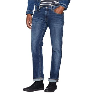 Tommy Jeans Somers Dark Blue Ryan Straight Fit Jeans