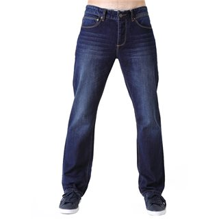 Diesel Washed Indigo Rudy Straight Relaxed Fit Jeans