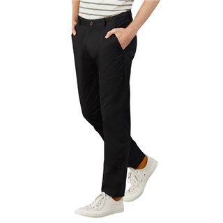 Farah Black Beech Stretch Chinos