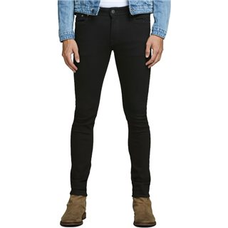 Jack & Jones Intelligence  Black Liam Skinny Fit Jeans