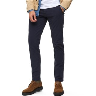 Selected Homme Navy Blazer Luca Skinny Stretch Chino