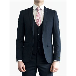 Remus Uomo Suits Navy Lazio Pinstriped Suit