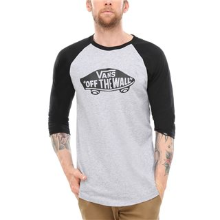 Vans Clothing Athletic Heather Otw Raglan T-Shirt