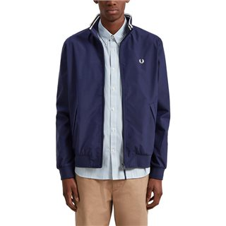 Fred Perry Carbon Blue Bretham Jacket