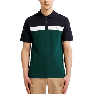 Fred Perry Ivy Contrast Panel Polo Shirt