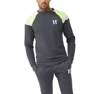 11 Degrees Anthracite Neo Fleece Sweater