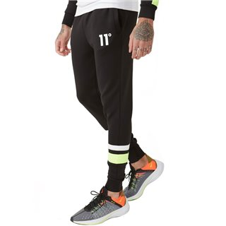 11 Degrees Black Neo Poly Joggers