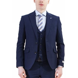 Lambretta Blue Pin-Dot 3-Piece Suit