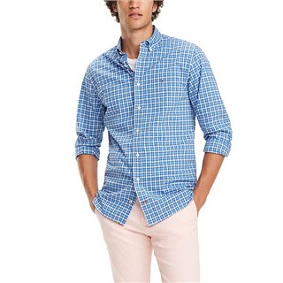 Tommy Hilfiger Essential Microcheck Cotton Shirt