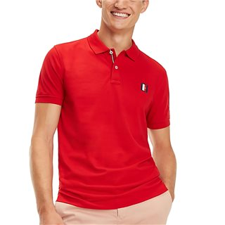 Tommy Hilfiger Monogram Badge Polo