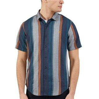 Farah Blue Star Donnally Short Sleeve Shirt