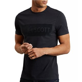 Lyle & Scott Flock Logo T-Shirt