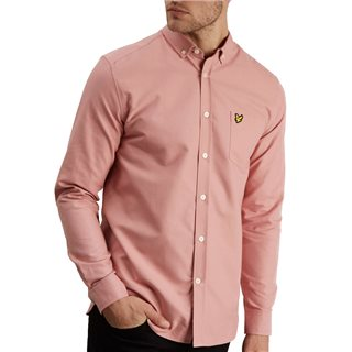 Lyle & Scott Coral Way Long Sleeve Oxford Shirt