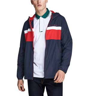 Jack & Jones Core Navy Light Windbreaker Jacket