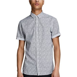 Jack & Jones Premium Botanical Print Short Sleeve Shirt