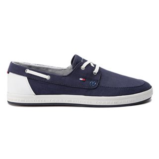 Tommy Hilfiger Footwear Midnight Contrast Boat Shoe Trainers