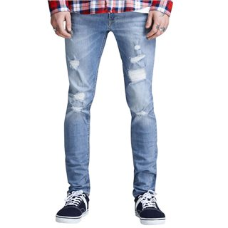 Jack & Jones Intelligence  Blue Denim Liam Original 793 Skinny Fit Jeans