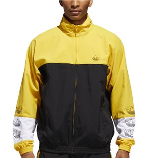 adidas Originals Black/Gold Tourney Warm Up Jacket