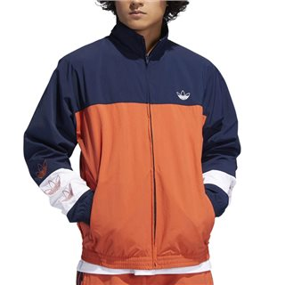 adidas Originals Navy/Orange Tourney Warm Up Jacket
