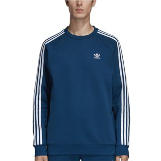 adidas Originals Legend Marine 3-Stripes Crewneck Sweater