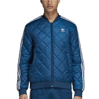 adidas Originals Blue Sst Quilted Jacket