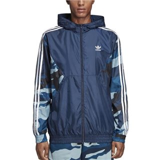 adidas Originals Collegiate Navy Camouflage Windbreaker