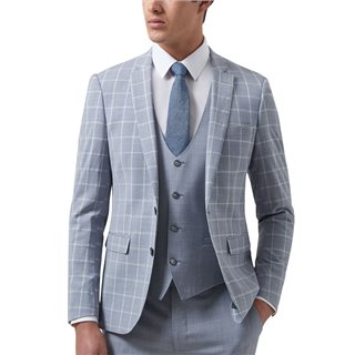 Remus Uomo Suits Lazio 3-Piece Check Suit