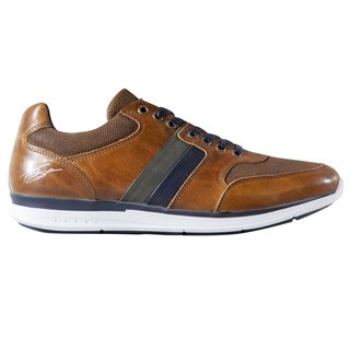 Tommy Bowe Footwear Caramel Mix Shanahan Trainer