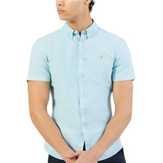 Farah Blue Star Brewer Short Sleeve Shirt