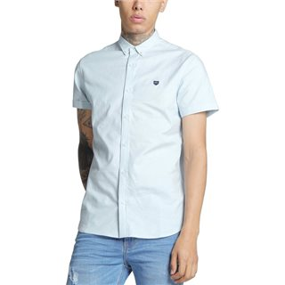 Diesel Isaac Oxford Ss Shirt Blue