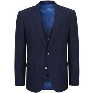 Daniel Grahame Navy Damon 3-Piece Suit