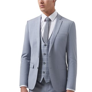 Remus Uomo Lazio X-Slim Fit Wool-Blend Stretch 3-Piece Suit
