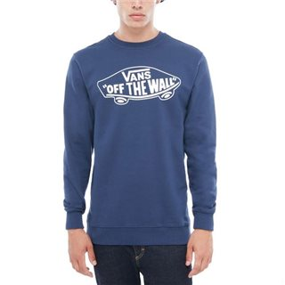 Vans Clothing Dress Blue Otw Crew Sweater