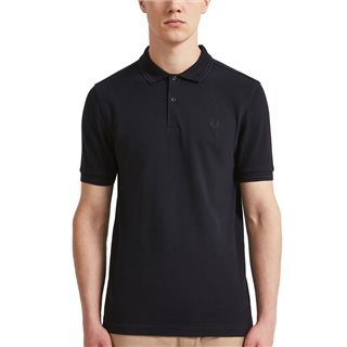 Fred Perry Navy M3600 Twin Tipped Polo