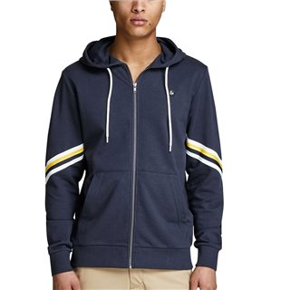 Jack & Jones Originals Retro Detailed Zip Hoodie