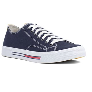 Tommy Hilfiger Footwear Ink Canvas Low-Top Trainers