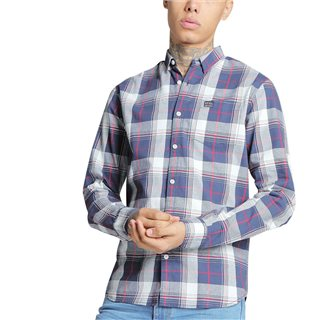 Diesel Check Toby Long Sleeve Shirt