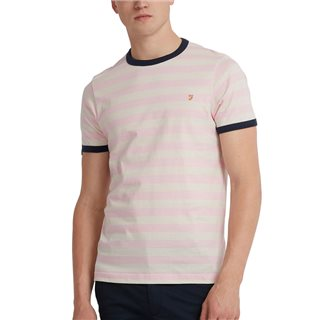 Farah Belgrove Striped T-Shirt