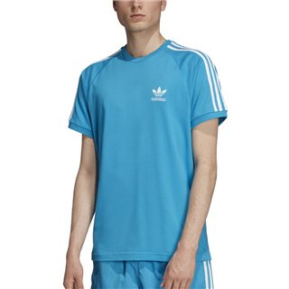 adidas Originals Shock Cyan Stripes T-Shirt