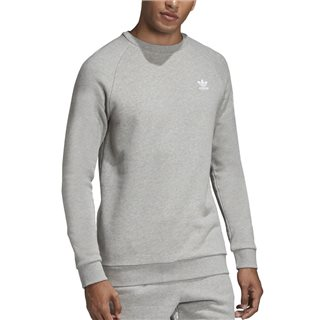 adidas Originals Trefoil Essentials Crewneck Sweatshirt Grey