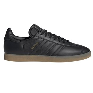 adidas Originals Core Black/Gum Gazelle Trainers