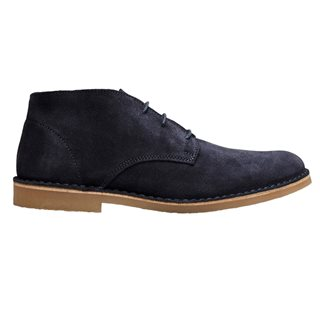 Selected Homme Navy Suede Desert Boots