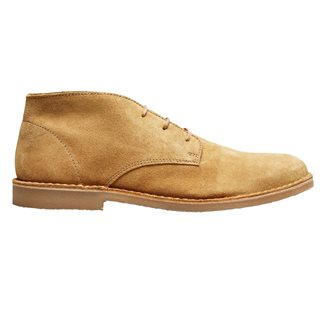 Selected Homme Sand Suede Desert Boots
