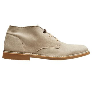 Selected Homme Cornstalk Suede Desert Boots