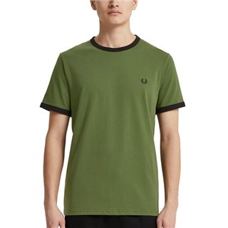 Fred Perry Cypress Ringer T-Shirt