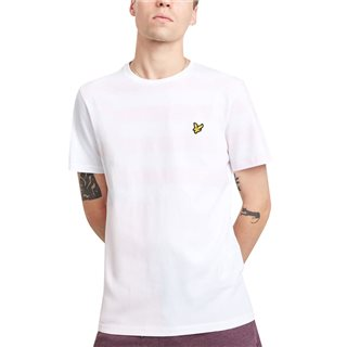Lyle & Scott Strawberry Cream Stripe Block T-Shirt