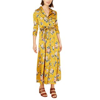 FRNCH Paris Jaune Fleurs Angel Dress