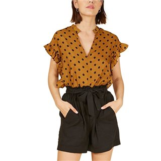 FRNCH Paris Marron Cally Top